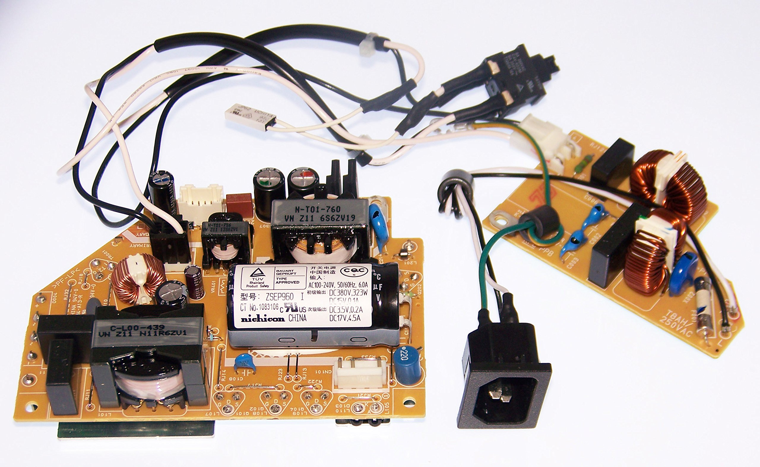 OEM Epson Projector PS Power Supply Filter Assembly For Epson BrightLink 475Wi, 480i, 485Wi, BrightLink Pro 1410Wi