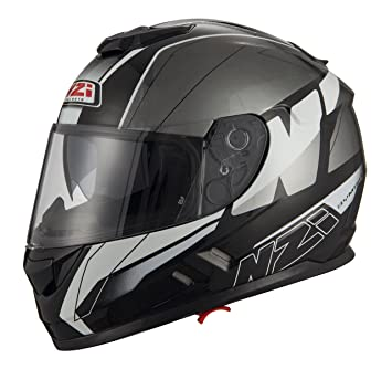 NZI Casco Symbio 2 Duo Mega Black Antracita (M)