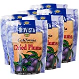 Wilbur Packing Company _ California Dried Plums, Pitted Prunes - 12oz. Bag (6 Pack)