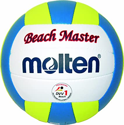 MOLTEN MBVBM - Balón de Volley Playa (Talla 5), Color Blanco ...