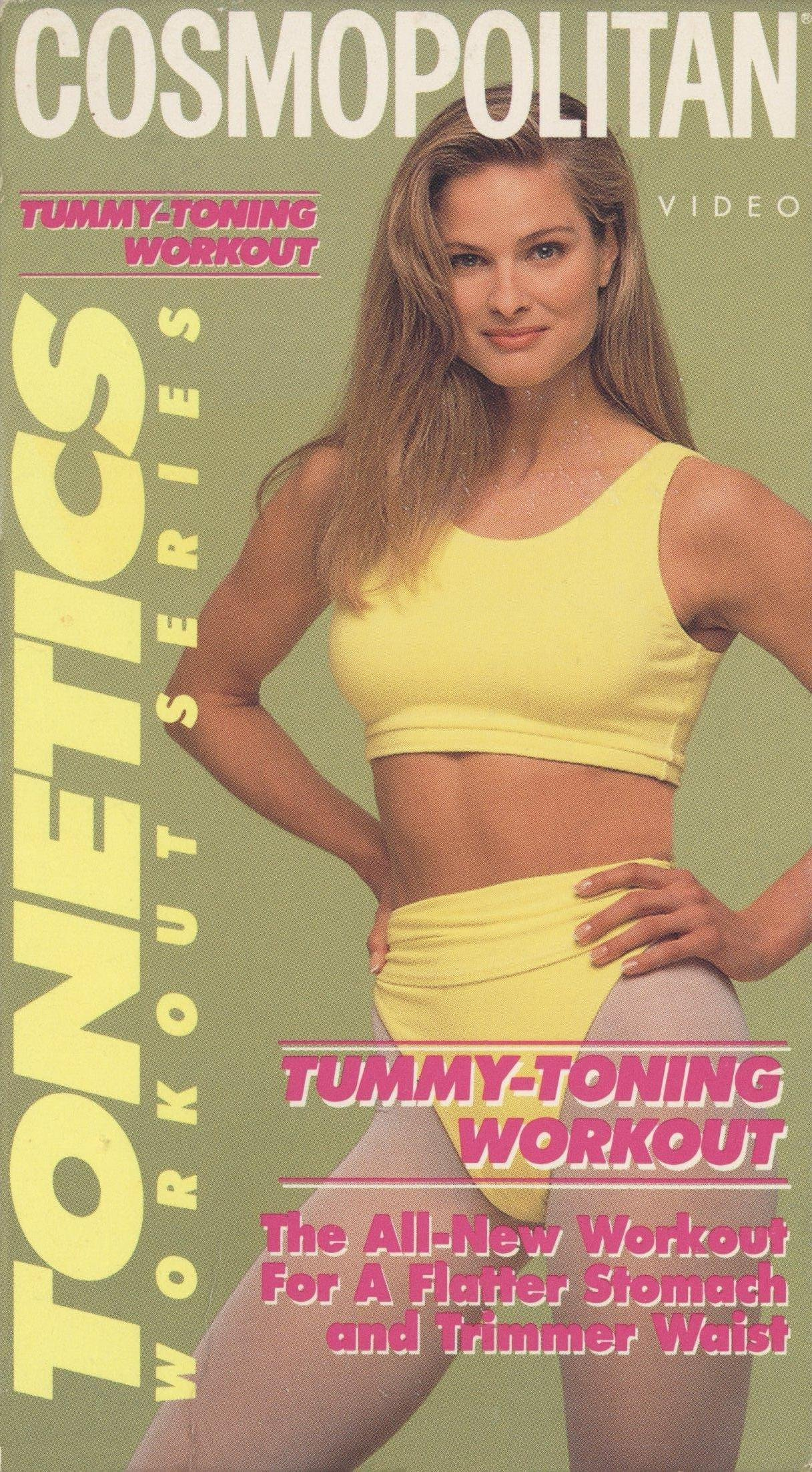 COSMOPOLITAN TONETICS WORKOUT SERIES: TUMMY TONING WORKOUT [VHS]