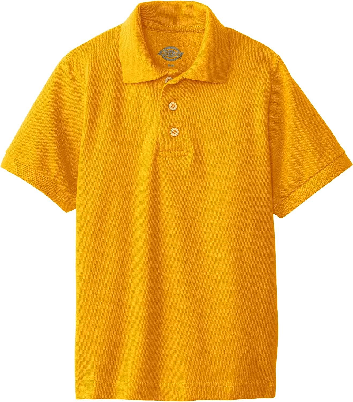 Dickies Boys Big Short Sleeve Pique Polo