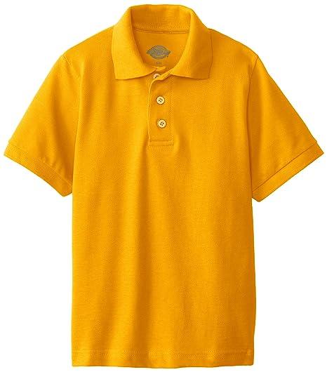 Dickies - Tamaño de KS4552 Camisa del niño de manga corta Polo ...