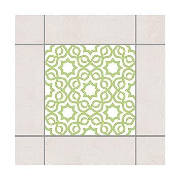 Pattern Design Gmbh Fliesen Aufkleber Islamische Weiss Spring Grun
