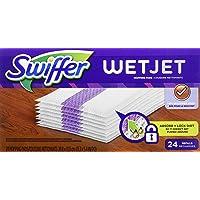 Swiffer WetJet Hardwood Floor Cleaner Spray Mop Wood Pad Refill, 24 Count