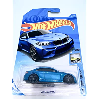 Hot Wheels 2020 50th Anniversary Factory Fresh 2016 BMW M2 121/365 , Blue: Toys & Games