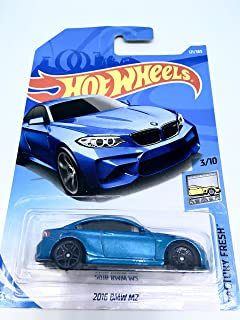 Amazon Com Hot Wheels 2017 Factory Fresh Bmw Model M4 154 365 Blue