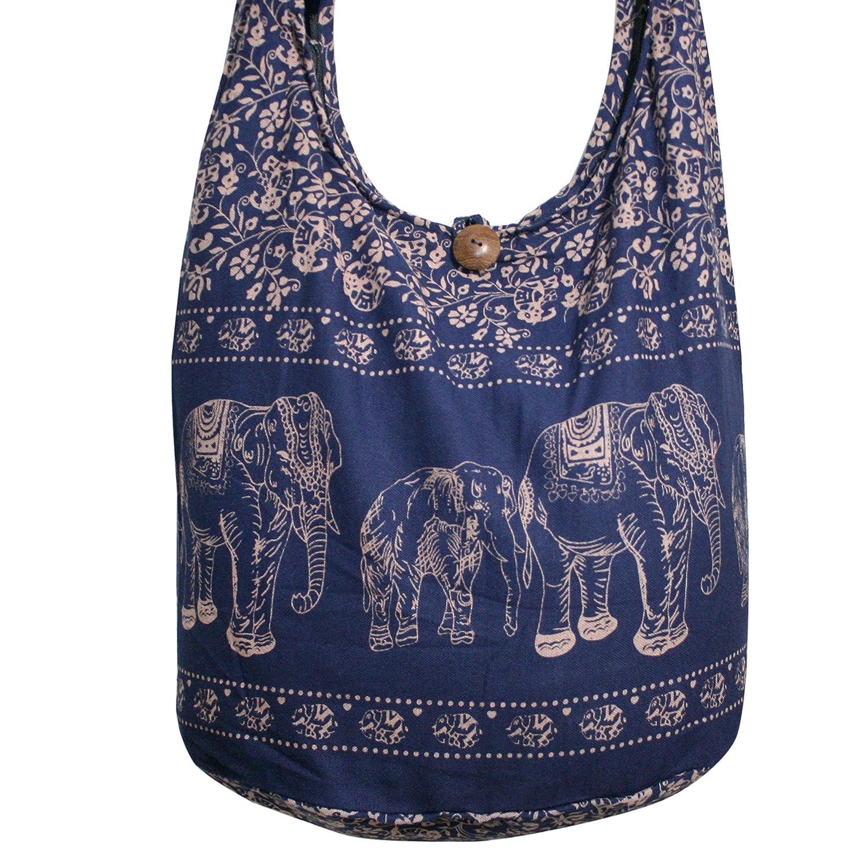 Amazon.com: Tonka algodón elefante hippie bohohobo Bolso ...