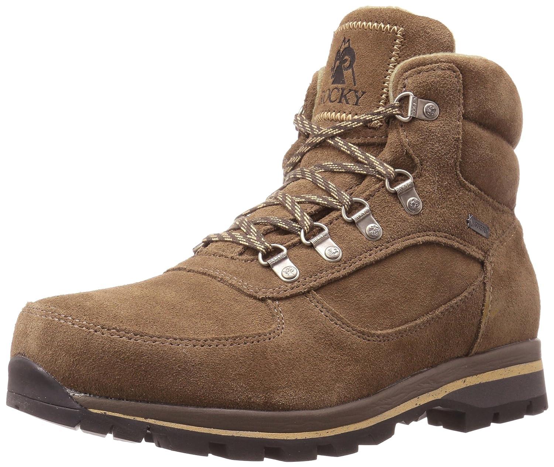 Rocky Mens scrambler Closed Toe Leather Safety Boots B072N1MK9J 10 M US|ブラウン ブラウン 10 M US