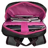 VanGoddy Pink Trim Anti-Theft Laptop Backpack w/USB