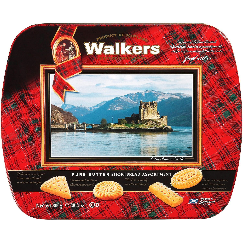 Walkers Butter Shortbread Dunrobin Castle Keepsake Tin, 28.2 Ounce