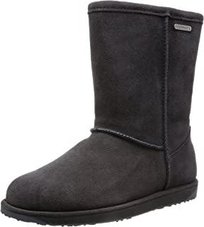 5a0bb8b9ad4f EMU Australia Paterson Lo Womens Waterproof Sheepskin Boots Black