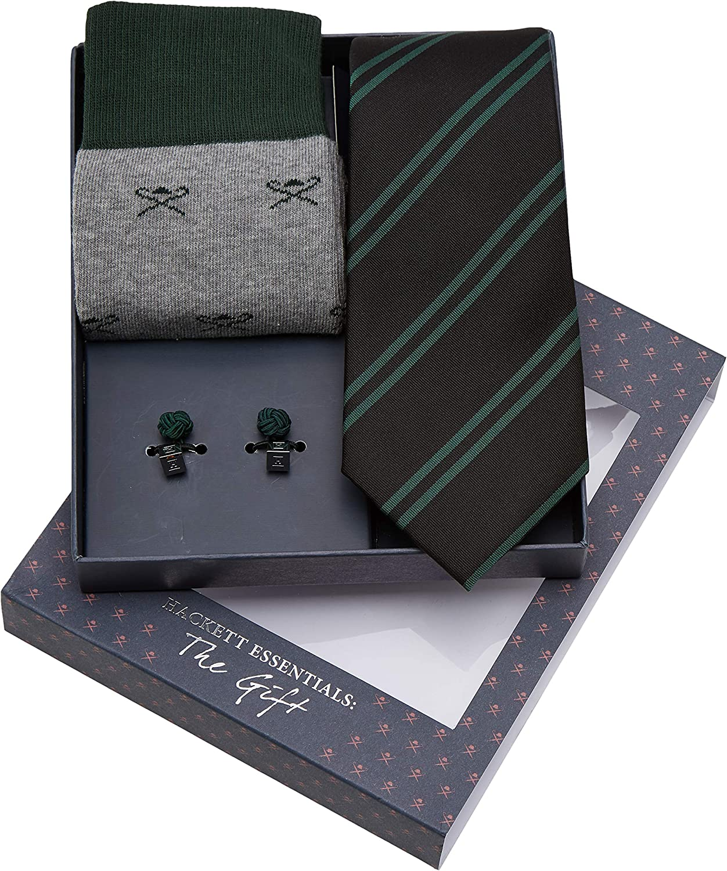 Hackett Sck Tie Cuf St Conjunto de corbata, (Grey 945), Talla ...