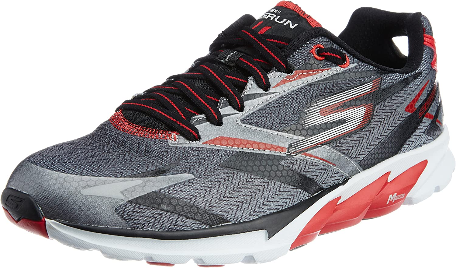 Skechers Go Run 4 - Zapatillas de running para hombre, color negro ...