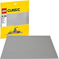 LEGO Classic Gray Baseplate 10701 Building Toy compatible with Building Bricks for Kids Play (1 Piece)