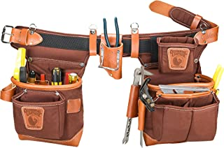 product image for Occidental Leather 9855LH Adjust-to-Fit Fat Lip Tool Bag Set - Cafe - Left