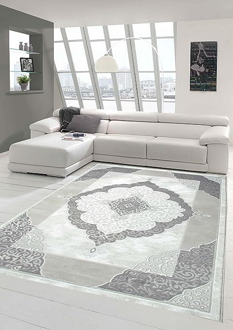4 opinioni per tappeto Designer Tappeto moderno tappeto da salotto con il modello grigio Crema