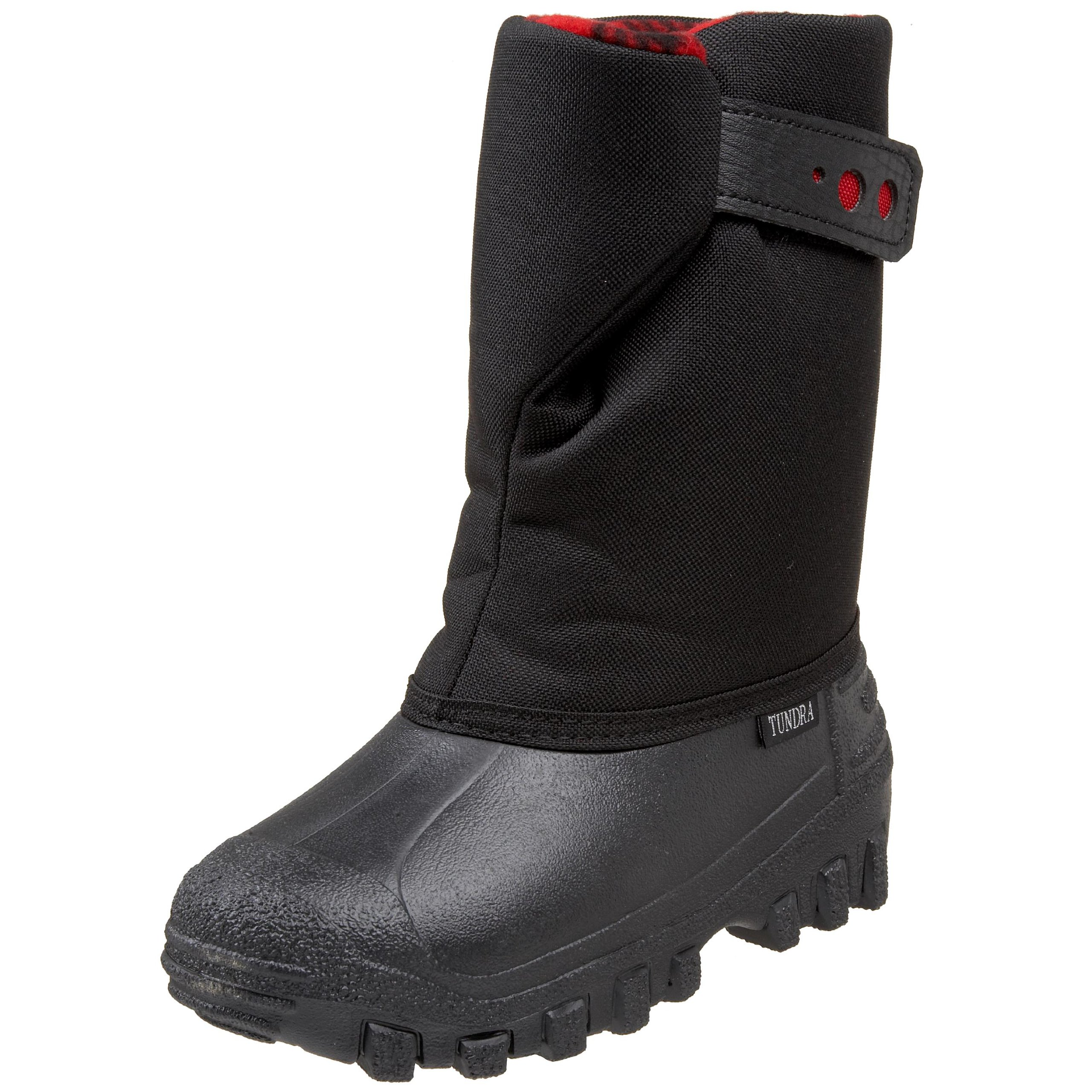 Tundra Teddy 4 (Toddler/Little Kid), Black/Red, 11 M US
