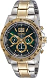 Seiko Analog Green Dial Men's Watch - SPC230P1