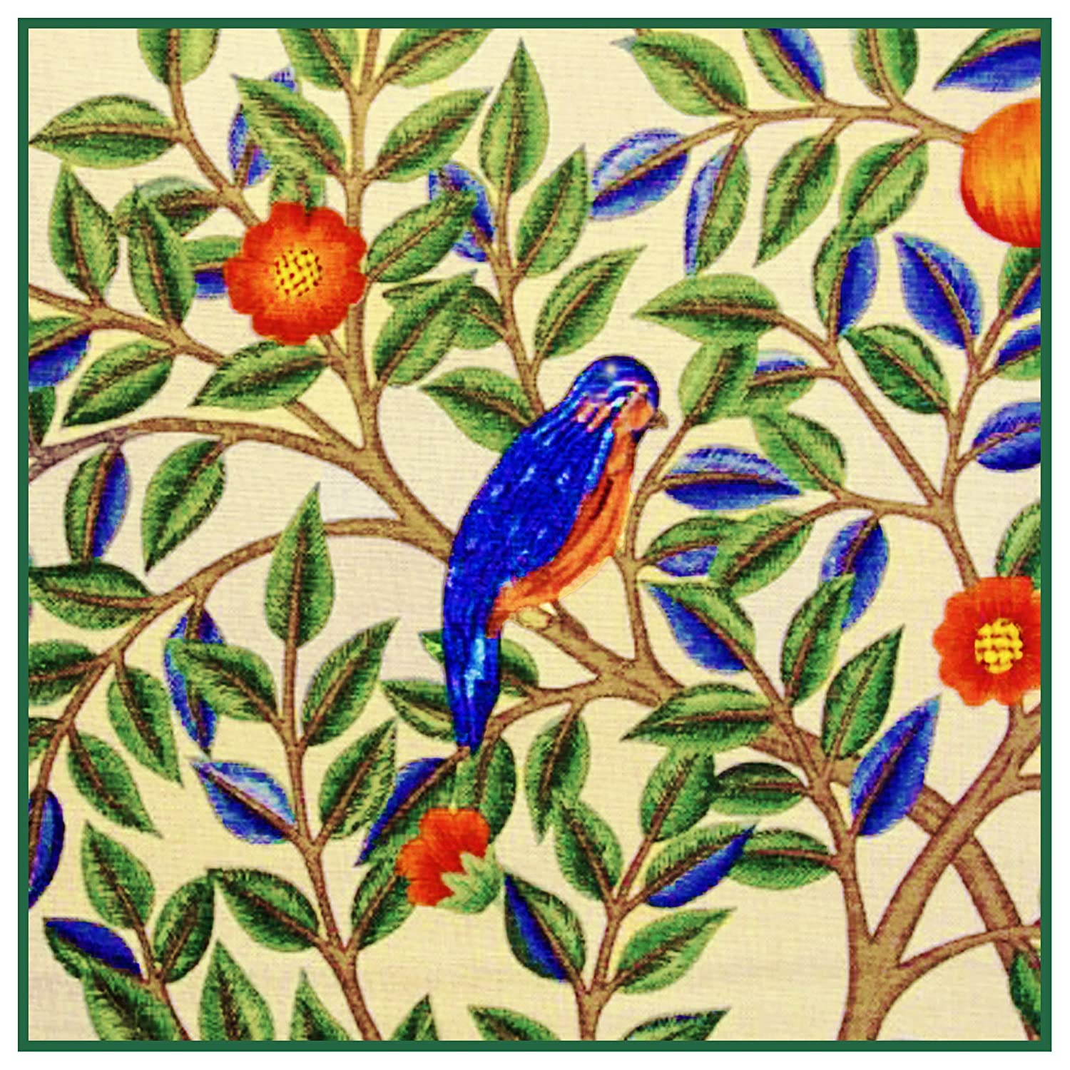 Orenco Originals Kelmscott Bird by William Morris Counted Cross Stitch Pattern