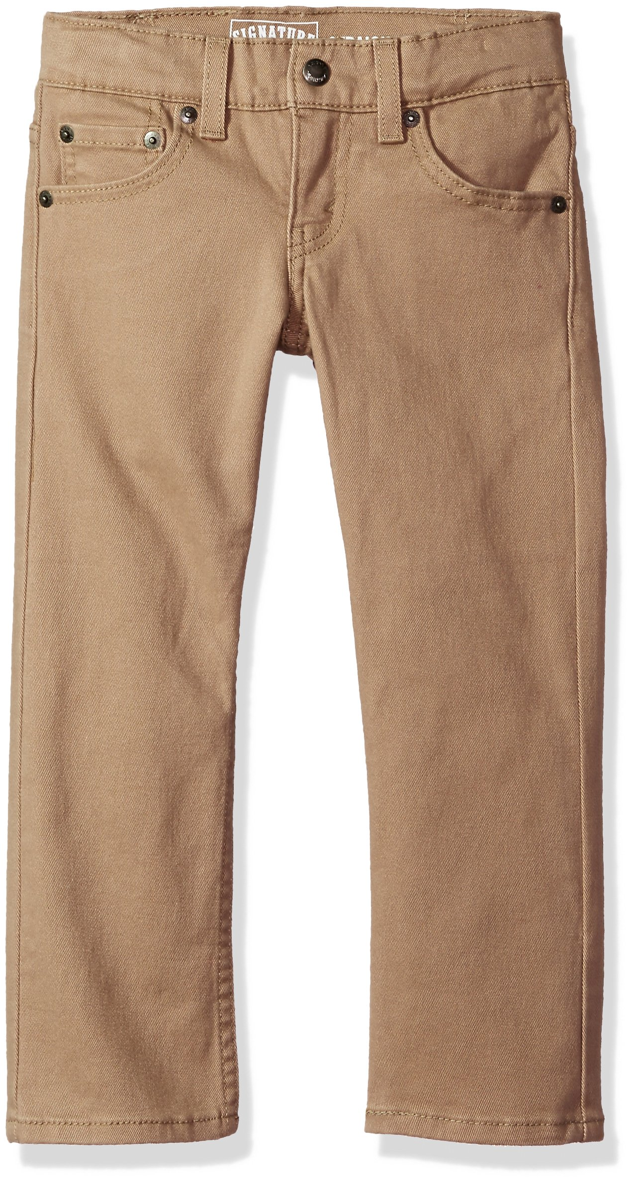 Signature by Levi Strauss & Co. Gold Label Big Boys' Straight Fit Jeans, Empire Khaki, 16