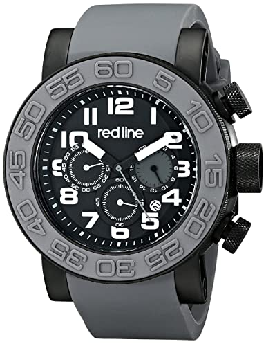 Red Line RL-50052-BB-01-GRYS - Reloj, correa de silicona color gris: Amazon.es: Relojes