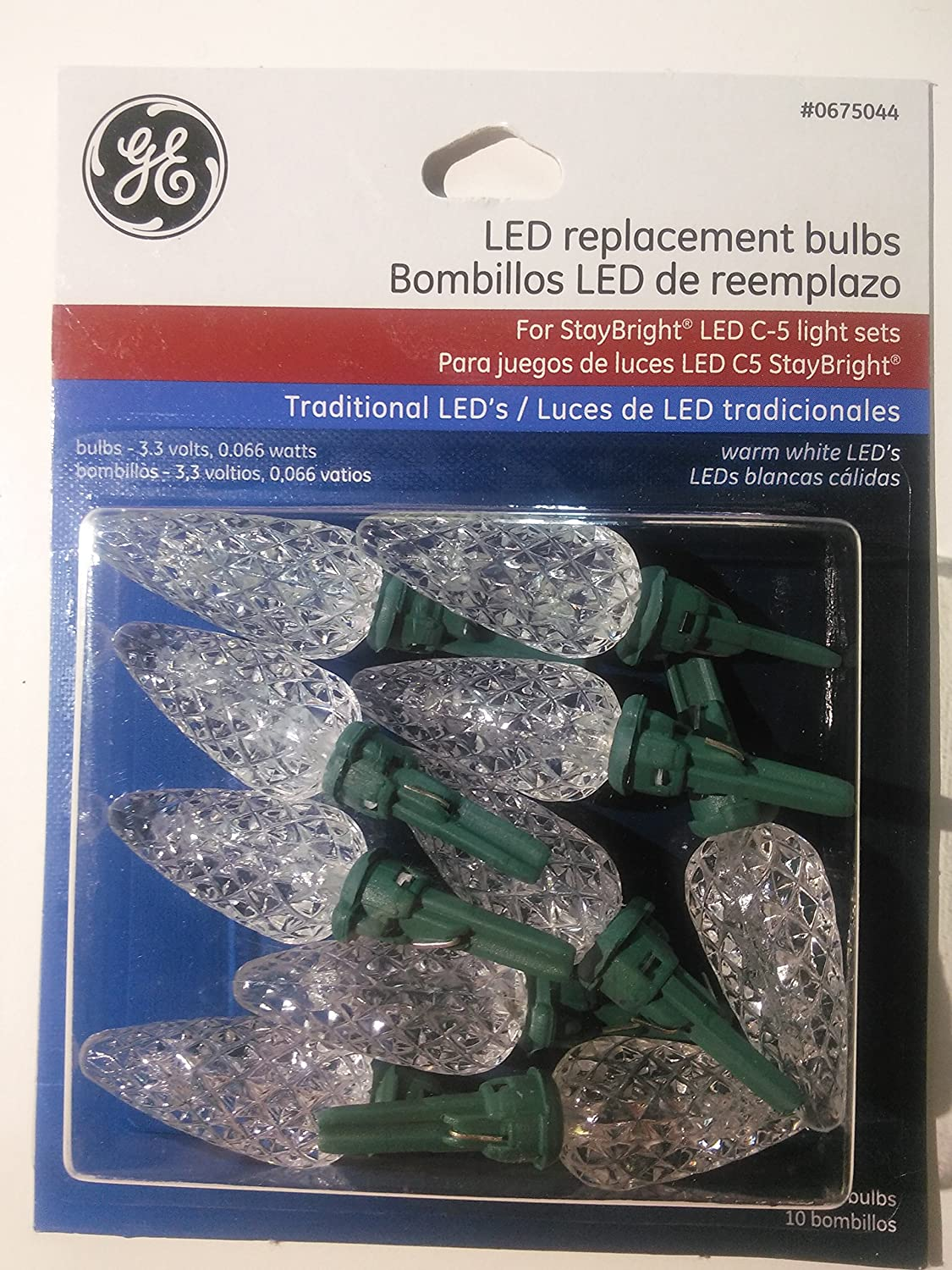 LED Replacement Bulbs Assorted for Energy Smart pine cone shape asst colors - - Amazon.com