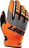 Shift Racing Assault Men's MX Motorcycle Gloves - Orange / Small