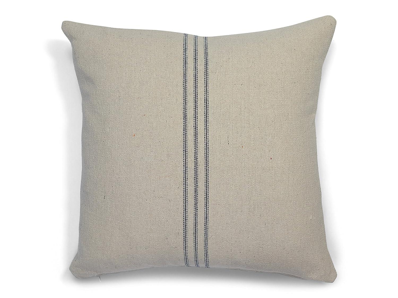 Grain sack Farmhouse Throw Pillow Cover in many sizes