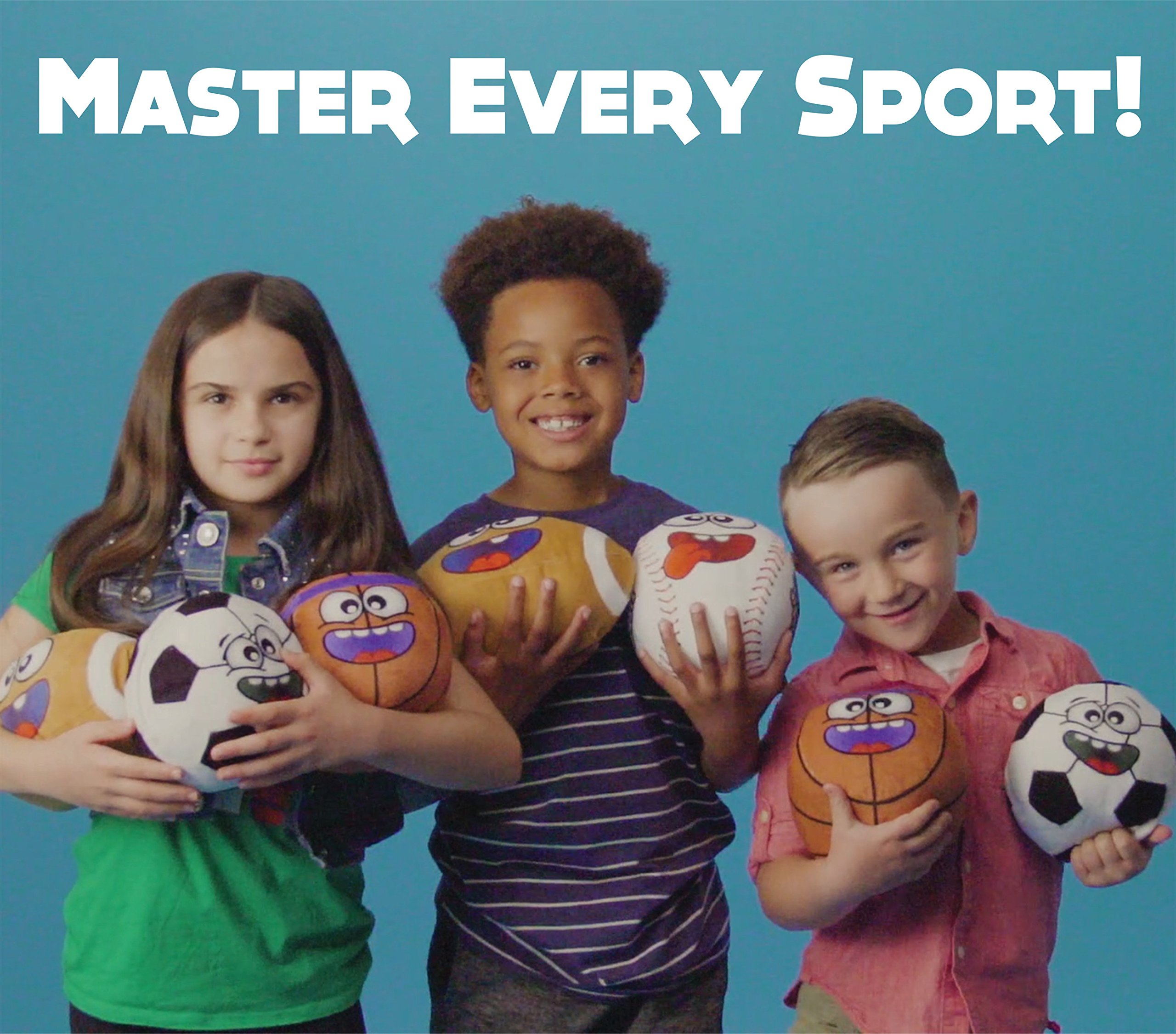 Talkin' Sports Hilariously Interactive Toy Soccer Ball with Music and Sound FX For Kids and Toddlers By Move2Play
