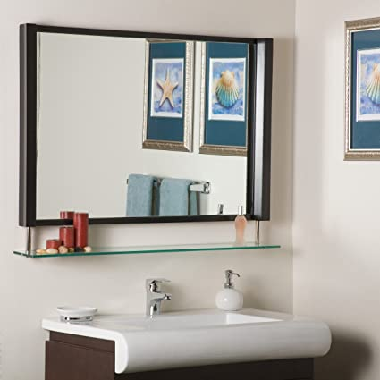 Amazon.com: Decor Wonderland New Amsterdam Framed Wall Mirror: Home ...