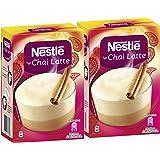 Nestle Coffee Shop Special, Typ Chai Latte, Boisson Thé au Lait, Boisson en Poudre avec Extrait de Thé, Lot de 2, 2 x 8 Portions