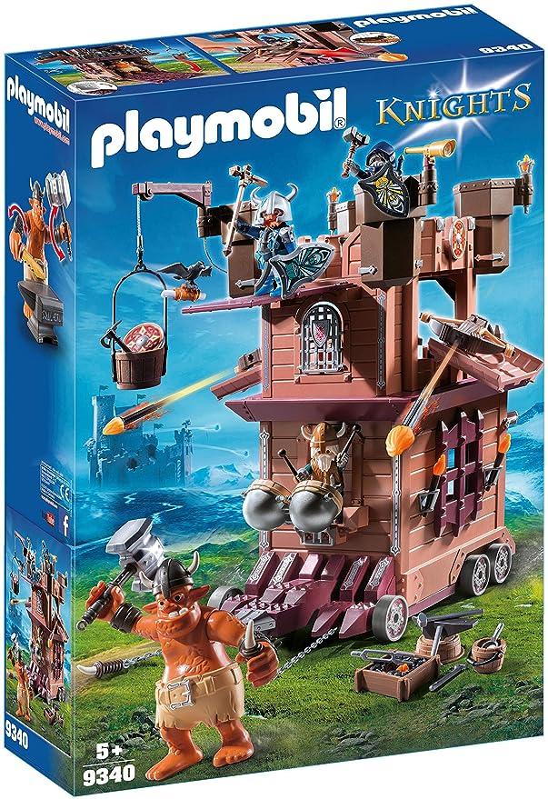 6 opinioni per Playmobil 9340- Fortezza Mobile Dei Guerrieri