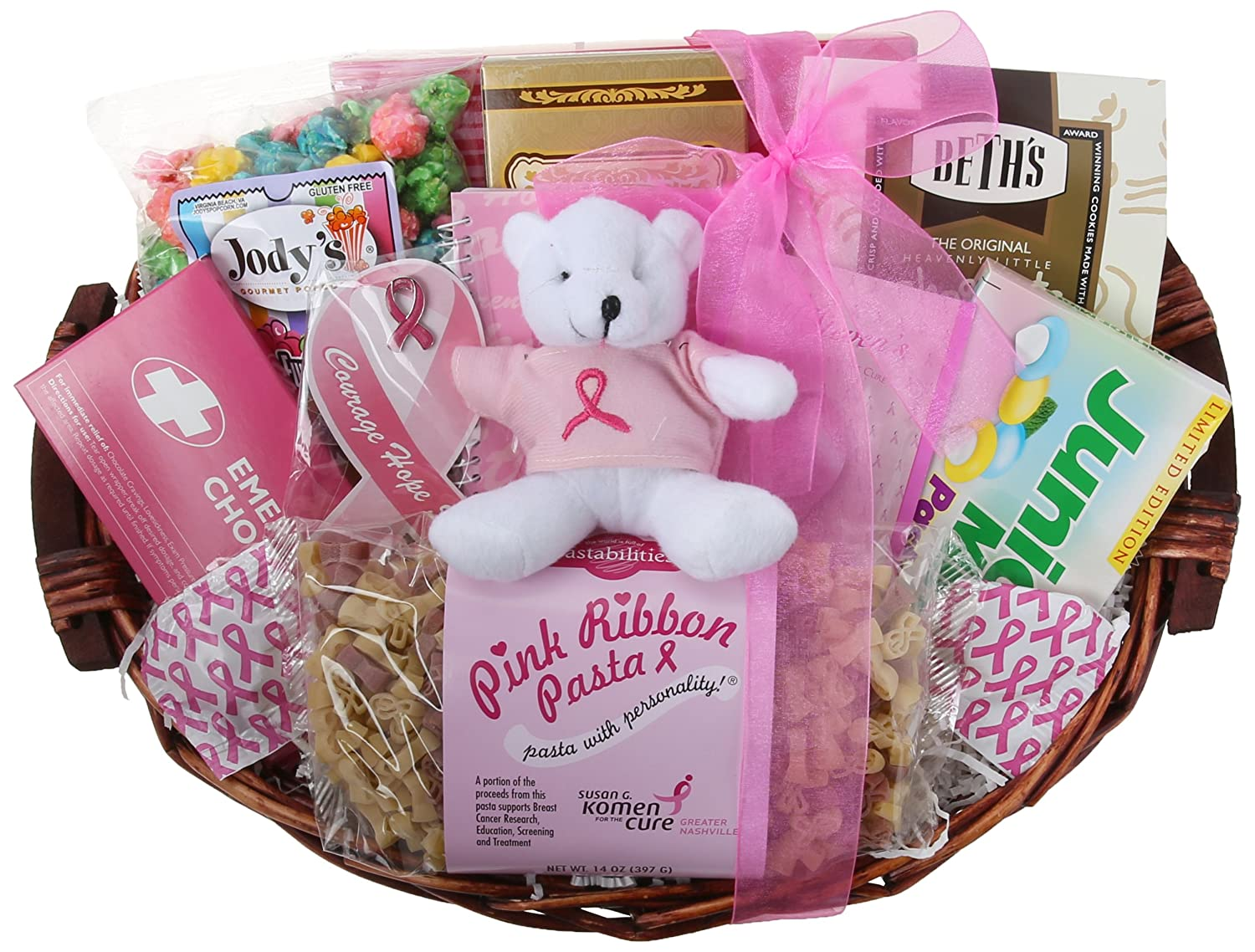 Amazon greatarrivals gift baskets courage hope and strength amazon greatarrivals gift baskets courage hope and strength breast cancer set gourmet snacks and hors doeuvres gifts grocery gourmet food negle Gallery
