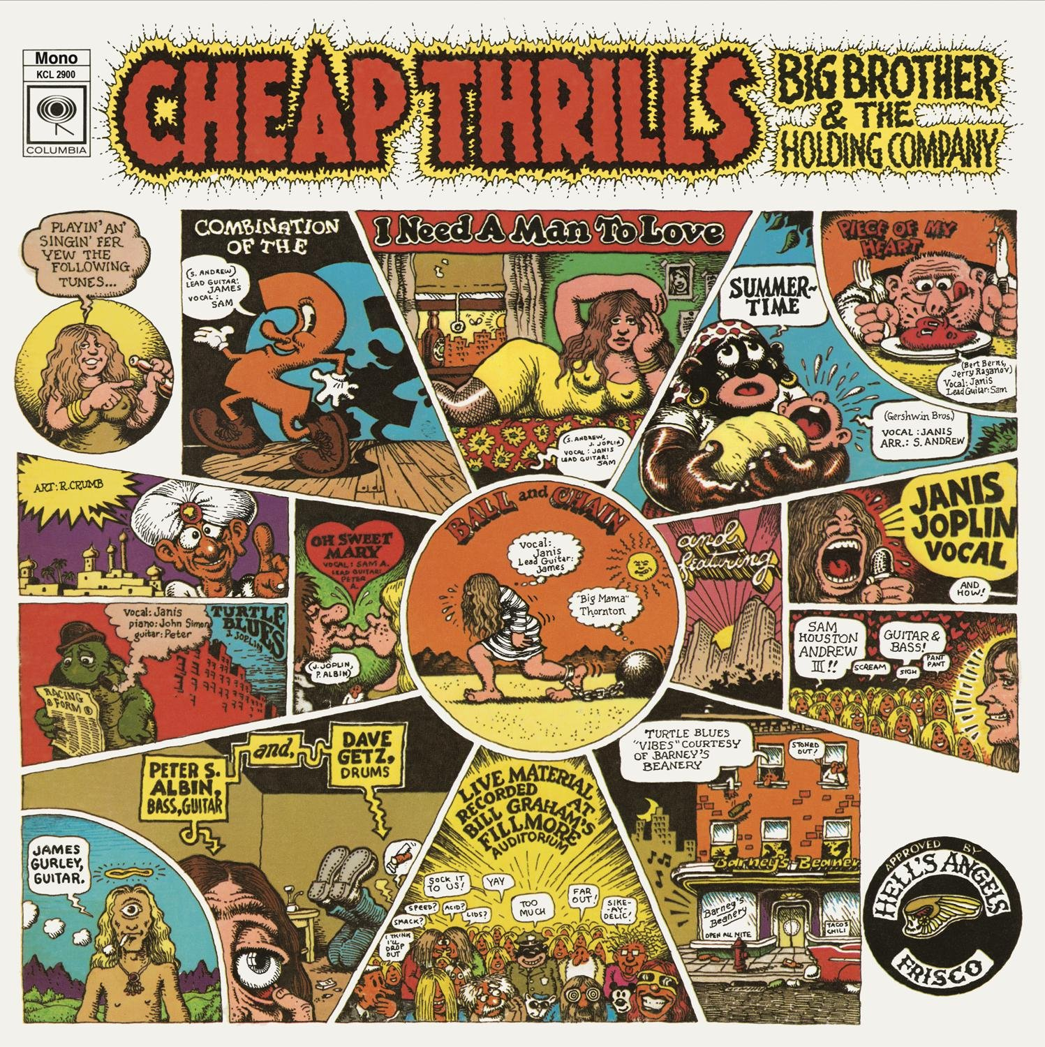 Big Brother & The Holding Company - Cheap Thrills - Amazon.com Music