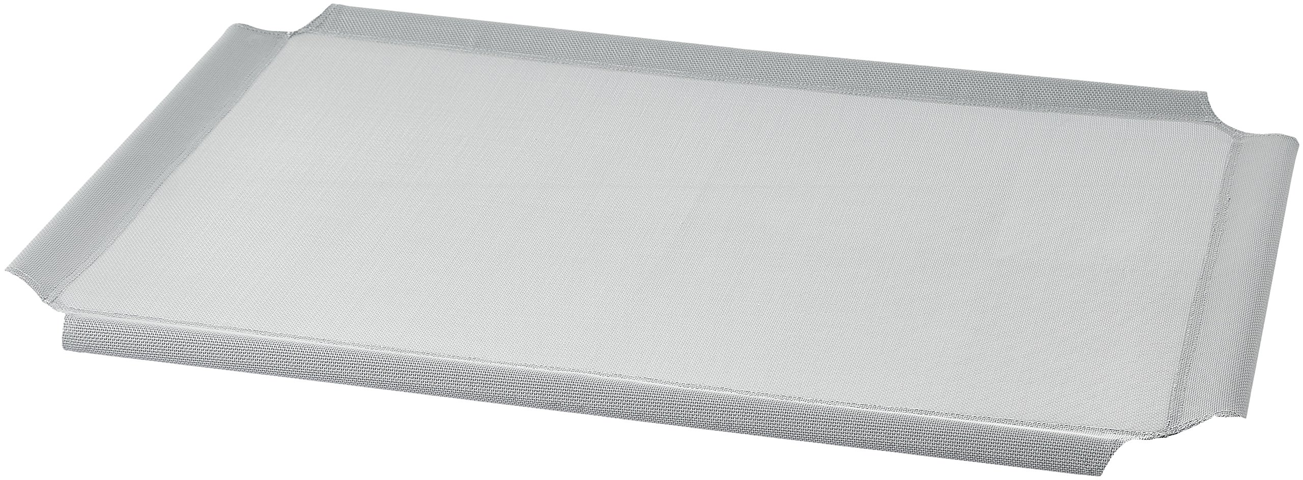 AmazonBasics Elevated Cooling Pet Bed Replacement Cover, M, Grey