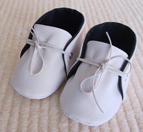 Amazon Com Baby Booties Crib Shoes Leather Baby Loafers Soft Sole