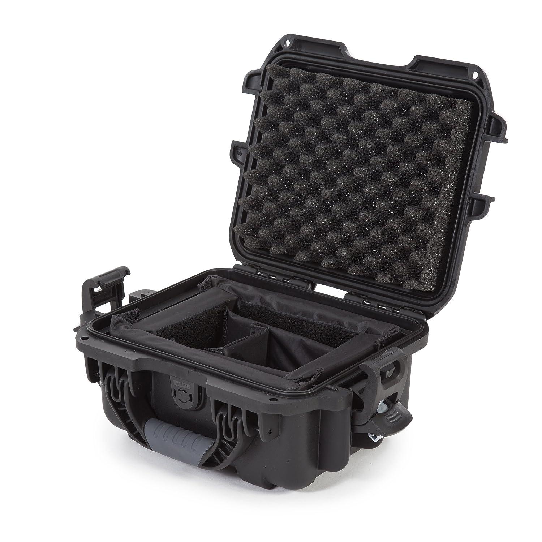 Nanuk 905 Waterproof Hard Case with Padded Dividers - Black Plasticase Inc 905-2001