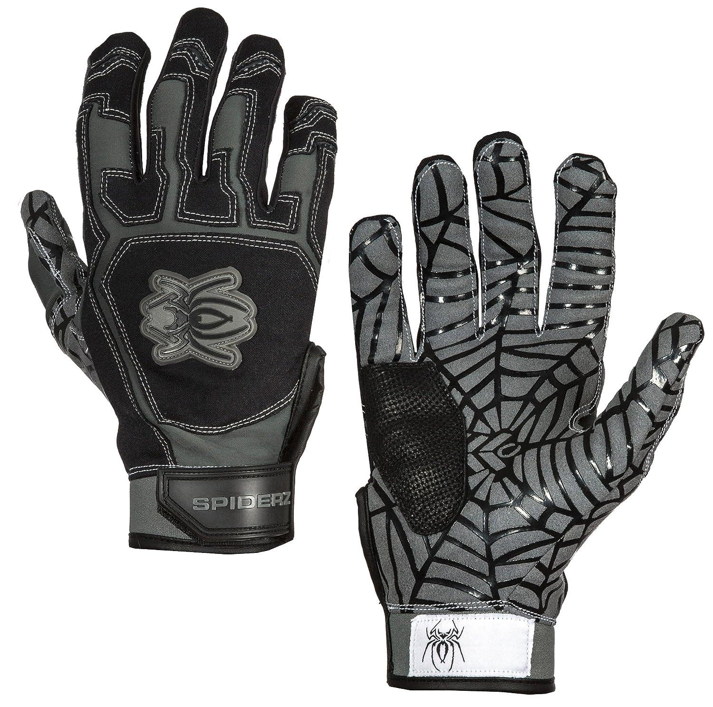 Black batting gloves - Amazon Com Spiderz Web Batting Glove Silicone Spider Web Palm Toys Games