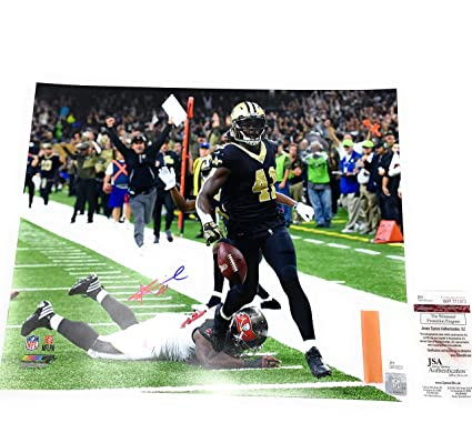 49bdc5d5 Alvin Kamara New Orleans Saints Signed Autograph 16x20 Photograph JSA  Witnessed Certified