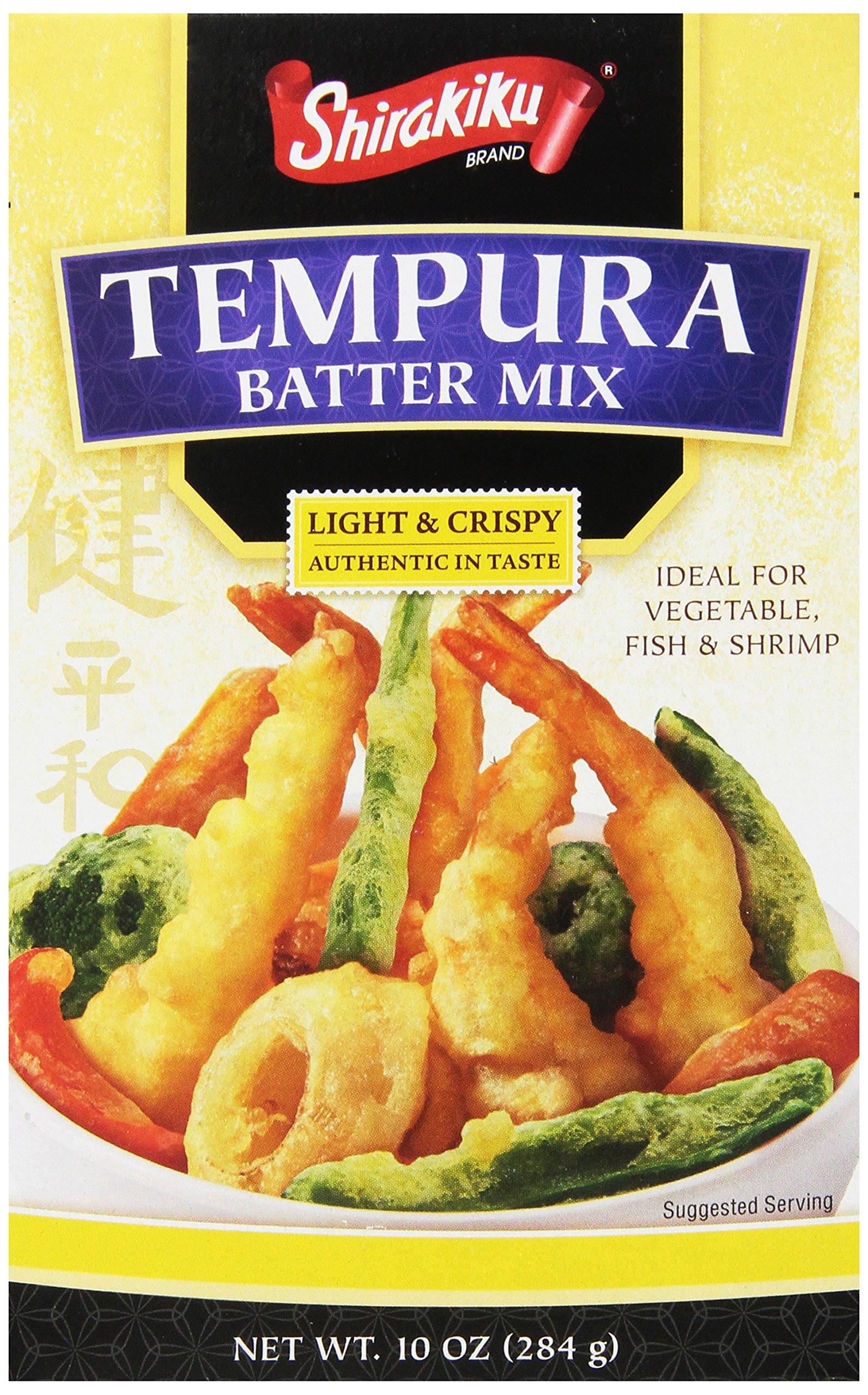 Shirakiku Tempura Batter Mix, 10-Ounce (Pack of 12) by Shirakiku (Image #1)