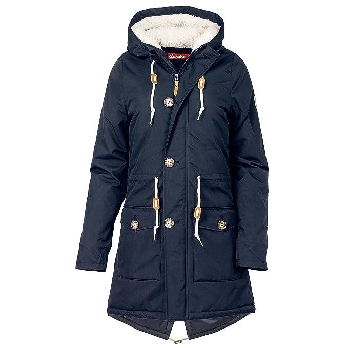 derbe Festland Friese Winter Winterjacke Damen  Amazon.de  Bekleidung abbf3b3aa7
