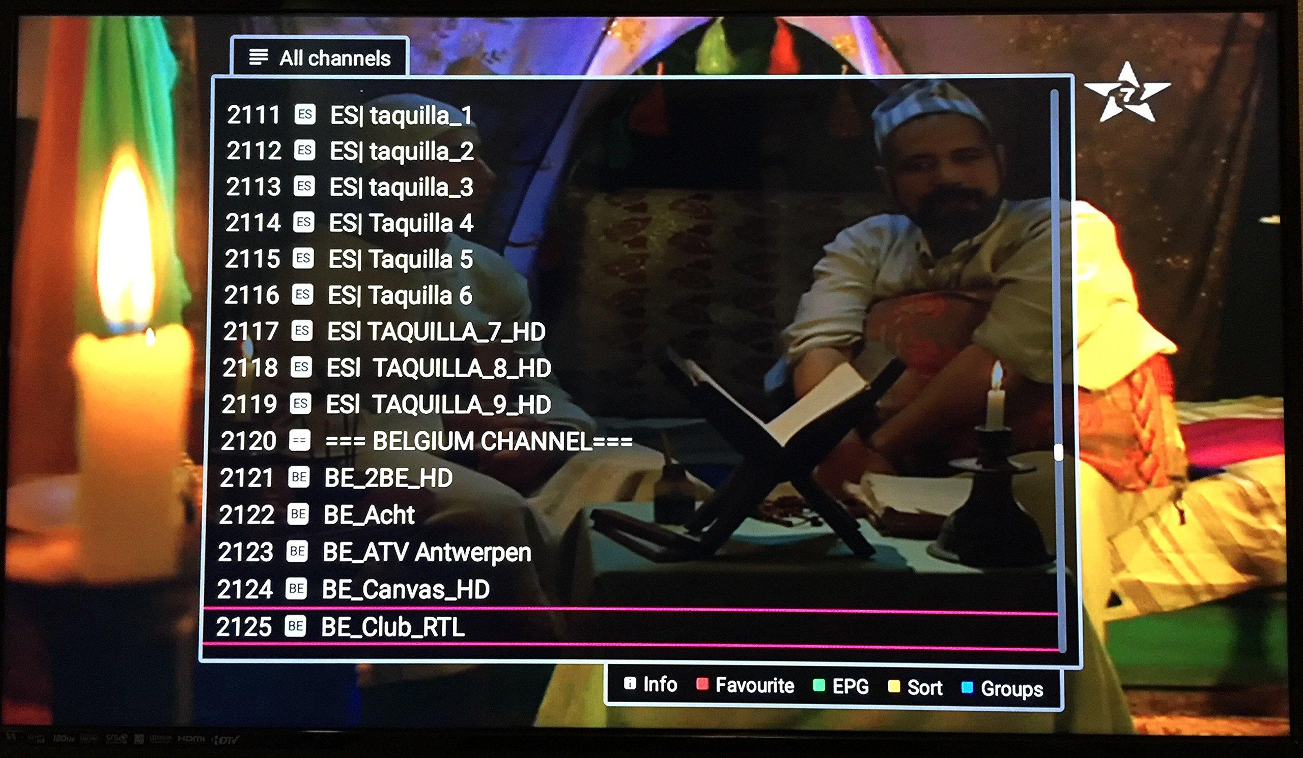 Arabia TV Super HD Receiver with 3000 Channel جهاز العائلة للقنواة العربية والعالمية (3000 Channel) by iptv+ (Image #5)