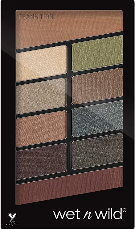 Wet n Wild Color Icon 10 Pan Palette, Comfort Zone, 10g Eyeshadow at amazon