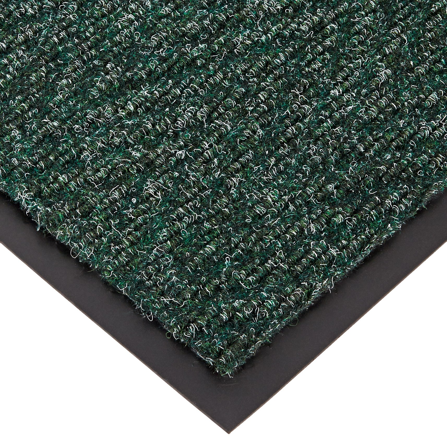 NoTrax 118 Arrow Trax Entrance Mat, for Main Entranceways and Heavy Traffic Areas, 4' Width x 6' Length x 3/8'' Thickness, Hunter Green