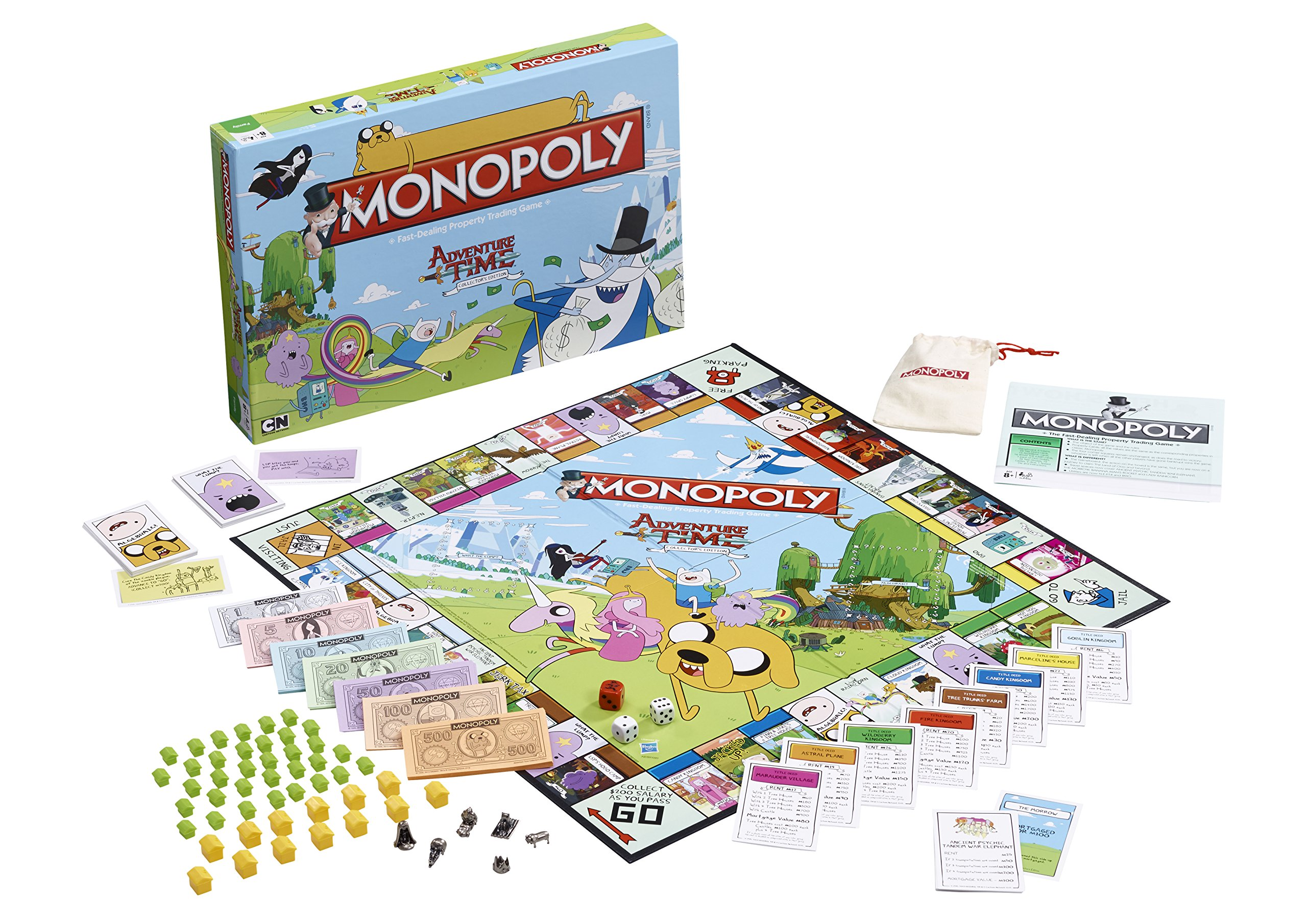 Adventure Time Monopoly Board Game: Amazon.es: Libros en idiomas extranjeros