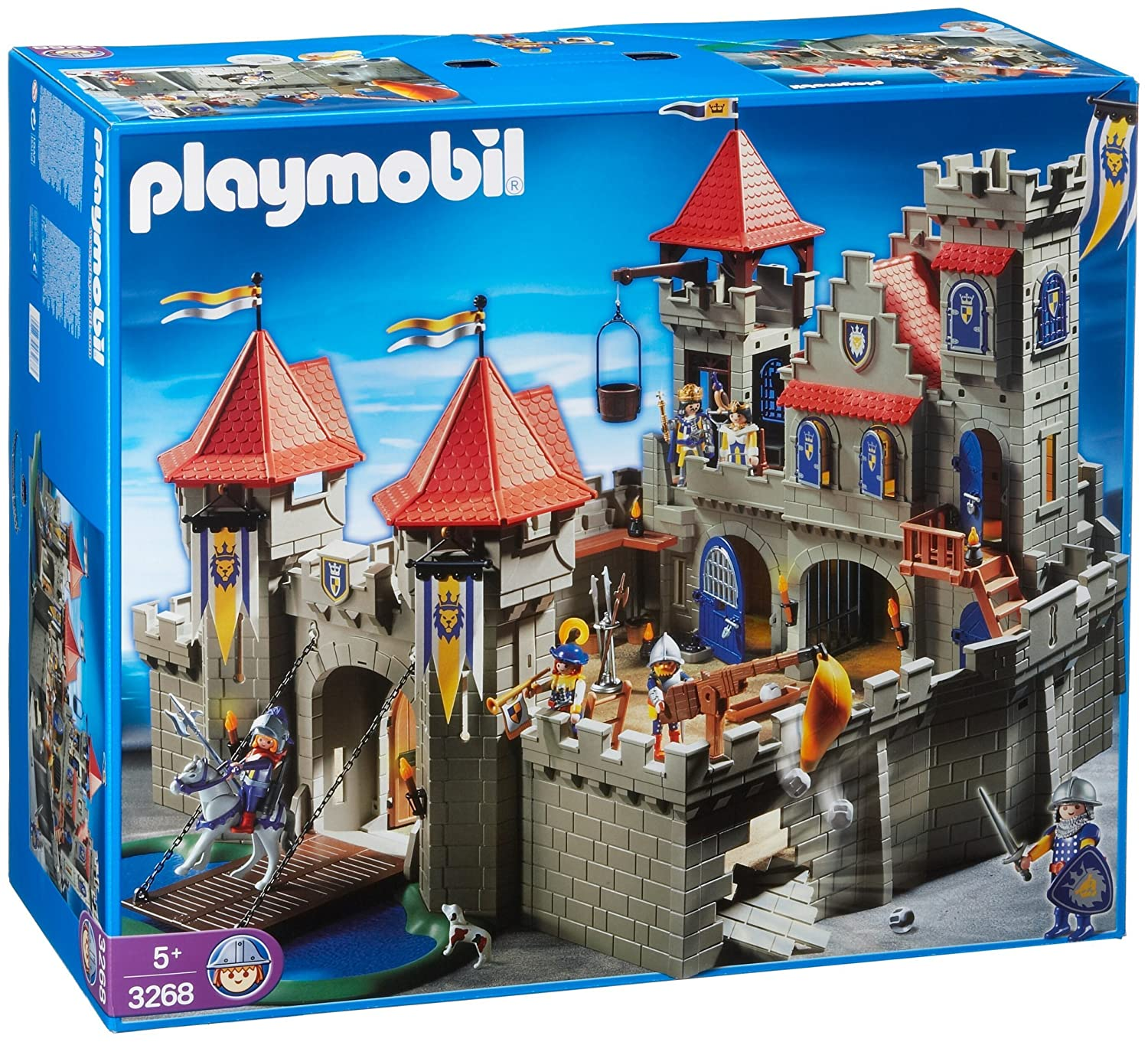 Chateau fort playmobil - Chateau chevalier playmobil ...