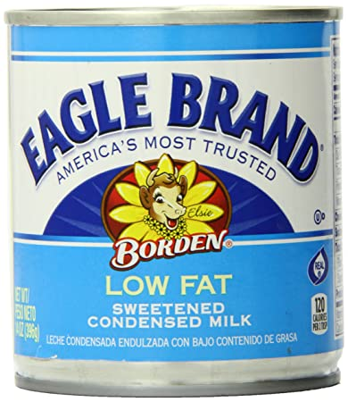 Amazon.com : Eagle Brand Low Fat Sweetened Condensed Milk, 14 Ounce ...