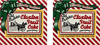 product image for Fruit Cake 5 Dark Recipe Claxton Fruitcakes (pack of 2 1 Lb)