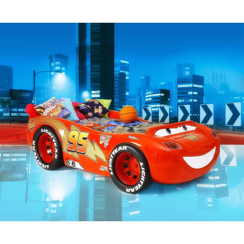 Kinderbett auto  Kinder Bett Kinderbett Autobett Auto Rennauto Lightning McQueen ...